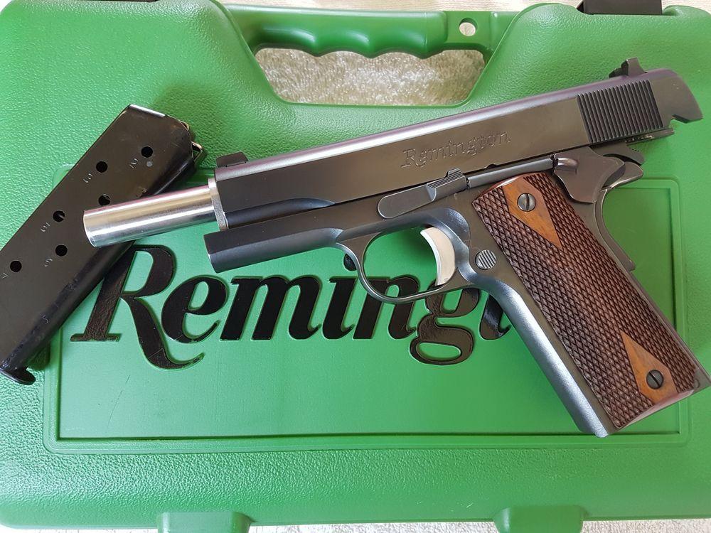 Pistolet Remington 1911 R1 calibre 45 ACP  --- 700€ ---    04/09/2017