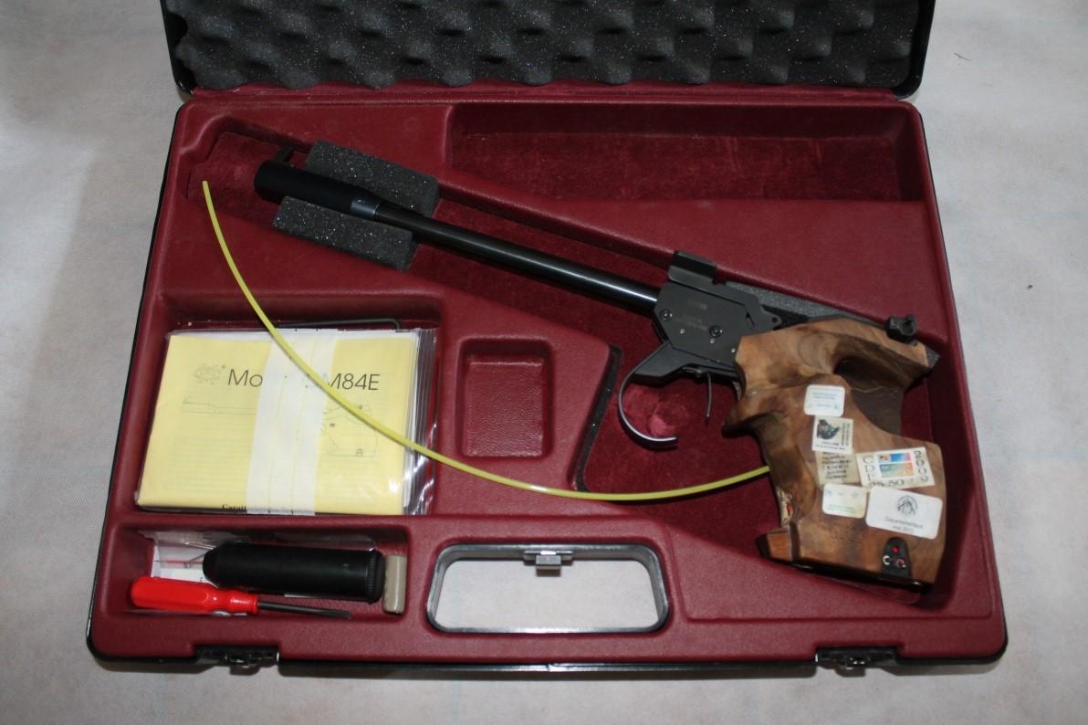 Pistolet libre 50M 22LR Morini  84 E --- 1200€ ---  18/12/2017